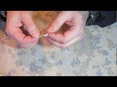 Рыболовные узлы #1 - Как привязать рыболовный Крючок