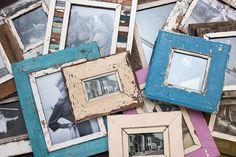 Bilderrahmen aus Altholz Wood Framed Mirror, Wall Ideas, Mixed Media Art, Picture Frames, Canvas Art, Photo Wall, Pictures, Reclaimed Wood Picture Frames, Recyle