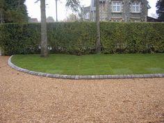 Gravel driveway / landscaping