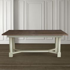 in by Bassett Furniture in Amarillo, TX - Custom Dining Turned Post Dining Table. Dining Room Table, Dining Bench, New Homes, Interior, House, Inspiration, Furniture, Design, Home Decor