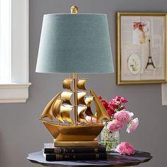 The Emily + Meritt Pirate Ship Table Lamp #pbteen