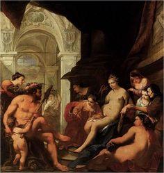 Hercules and Omphale, Antonio Bellucci
