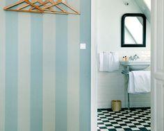 NeoClassica basin / devon stand / heritage floor / essenze wall tiles at Helenekilde Hotel by AQUADOMO Odense, Aarhus, Art Deco Bathroom, Classic Bathroom, Cozy Living, Wall Tiles, Copenhagen, Basin, Denmark