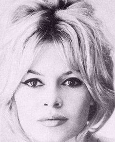 Brigitte Bardot. There's something wild about her i like.