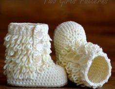 Crochet Baby Boot Pattern - Furryli..