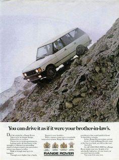 Old Range ad