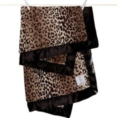 This incredibly soft Leopard print Luxe™ faux fur blanket is trimmed in a rich espresso colored satin band. Perfect for snuggling, it's the softest leopard baby blanket in the world! Little Giraffe, Faux Fur Blanket, Pink Leopard, Receiving Blankets, Baby Prints, Beautiful Babies, Baby Love, Espresso