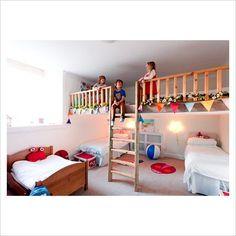 loft play area doubles floor space