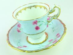 Foley cup and saucer fine English bone china tea party...make it yours!