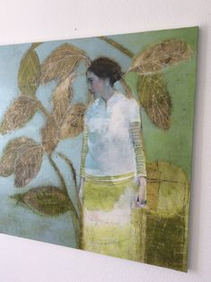 Pastel, People Art, Portrait Paintings, Oil Paintings, Figure Painting, Artist Art, Figurative Art, Japanese Art, Art Boards