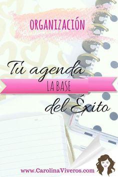 Organizaci�n Tu agenda la Base del Exito -cv
