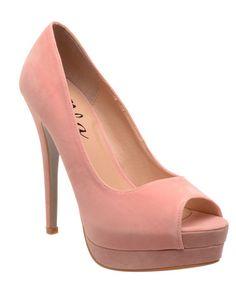 ELLA | Kate Platform Heels in Pink - Women - Style36