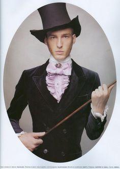 """The Ultimate Dandies"""" fotografiados por Karl Lagerfeld para la revista Número Homme"""