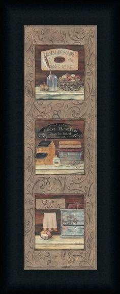 Страна Ванна Пэм Бриттон - ст печать Рамку & Unframed на www.framedartbytilliams.com