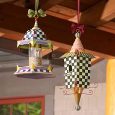 The Pagoda Birdhouse brings a bit of exotic flair to the garden.