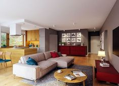 Murator C333u Miarodajny - wariant XVIII - zdjęcie 10 20 M2, Entryway, Villa, Vogue, Couch, Furniture, Home Decor, Entrance, Settee