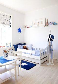 ¡Decoración con estrellas! Textiles estampados para el cuarto del bebé Check more at http://decoracionbebes.com/decoracion-estrellas-textiles-estampados-cuarto-del-bebe/