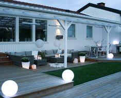 Hagestuer, orangeri, terrasser, utekjøkken og andre smarte løsninger, alt bygget i tre!