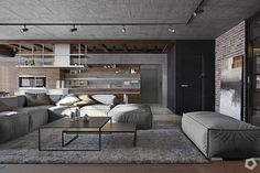 Have an exposed brick wall, but not sure what to do with it? These three inspirational homes – sized as smaller apartments or more luxurious two-storey dwelle