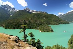North Cascades National Park. This complex includes the two units of the National Park and the Ross Lake and Lake Chelan National Recreation Areas. There are numerous glaciers, and popular hiking and climbing areas are Cascade Pass, Mount Shuksan, Mount Triumph, and Eldorado Peak.