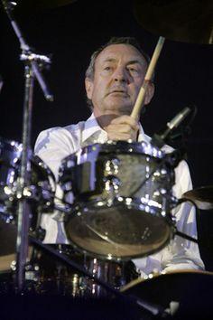 Pink Floyd drummer Nick Mason saves his old drum shop