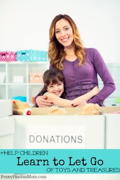 Got clutter?  More importantly - do your KIDS have clutter?  Are they afraid to get rid of toys and other treasures?  No worries as you are NOT alone!  Check out this list of tips to help you teach your child learn to let go of toys and other things they no longer use.  #parenting     www.pennypinchinmom.com