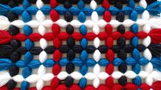 How to make a pom pom blanket. This Pom pom blanket zig zag design is a lot easier than you think. Make this beautiful pom pom blanket in no time at all, The. Loom Blanket, Baby Blanket Crochet, Crochet Yarn, Pom Pom Baby, Pom Pom Rug, Pom Pom Crafts, Yarn Crafts, Diy Crafts, Loom Board