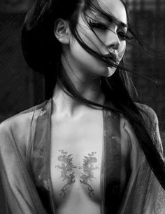 """""""Remember, geisha are not courtesans. We create another secret world, a place only of beauty. The very word """"geisha"""" means artist. Bild Tattoos, Sexy Tattoos, Body Art Tattoos, Tattoos For Women, Twin Tattoos, Fashion Tattoos, Tattoo Women, Tattoo Girls, 1 Tattoo"""