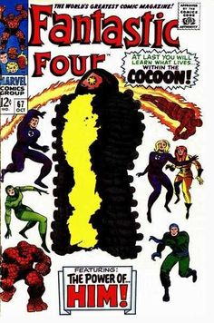 Fantastic Four #67 - When Opens The Cocoon!