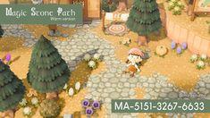 Animal Crossing Wild World, Animal Crossing Game, Nintendo Switch, Cotton Candy Sky, Island Theme, Path Design, Design Ideas, Island Design, Decoration