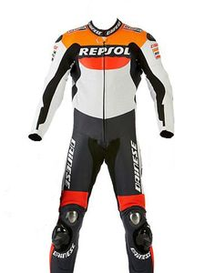 Dainese Repsol Motorbike Racing Leather Suit