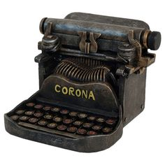 Typewriter Figurine
