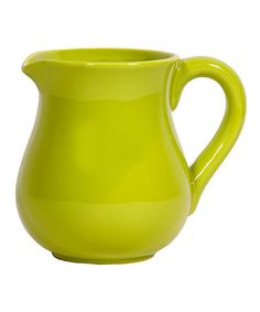 Take a look at this Lime Green Small Pitcher by Home Essentials and Beyond on #zulily today!