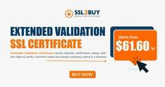 EV SSL Certificate verifies a domain name. and validates business identity and shows company name in a browser
