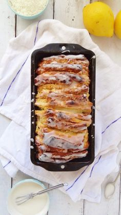 Lemon coconut pull apart bread/coffee cake - recipe