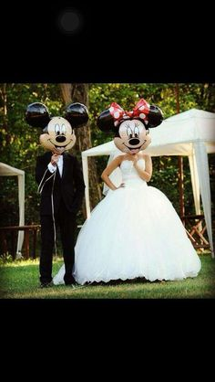 Minnie & Mickey wedding!