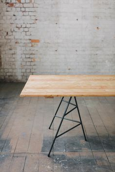 TRESTLE UNION TABLE FOR OUTSIDE - MACROCARPA TONGUE AND GROOVE TOP
