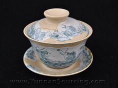 "Hand-Painted Glaze on Clay Gaiwan ""Awash"" 150ml - Yunnan Sourcing Pu-erh Tea Shop - Your Ultimate Source for Yunnan Pu'er, Green and Black Tea!"