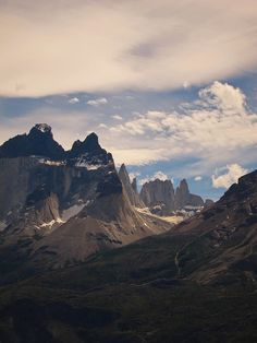 Cuernos del Paine, Chile