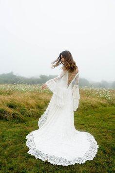 Beautiful Custom Wedding Gowns // Katherine Feiel #weddinggowns