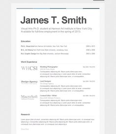 types of resumes on pinterest resume infographic resume