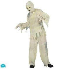 Disfraz de momia zombie infantil