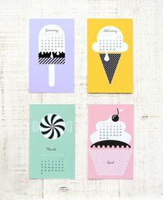 free #diy printable calendar for 2014