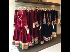 Velvet dresses go very well in winters. Presenting different ways to incorporate velvet for parties and special occasion. Check newest collection of party dr. Velvet Pakistani Dress, Pakistani Formal Dresses, Pakistani Dress Design, Pakistani Outfits, Stylish Dresses For Girls, Stylish Dress Designs, Frock Fashion, Fashion Dresses, Women's Fashion