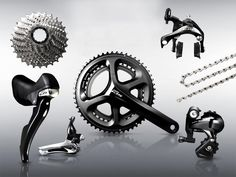 Shimano 105 5800 Black groupsetn Shimano 105 5800 Black groupset
