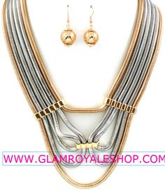 """LET YOUR PIECE SPEAK""!!   With your ""MULTI OMEGA STRAND"" Set ( 2 colors)!! Get 15% OFF YOUR ORDER WITH COUPON CODE (( 2013 SALE))!! PURCHASE NOW ----> www.glamroyaleshop.com/ProductDetails.asp?ProductCode=GRAS%2E24"