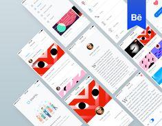 """다음 @Behance 프로젝트 확인: """"Snipsl Mobile App"""" https://www.behance.net/gallery/41141991/Snipsl-Mobile-App"""