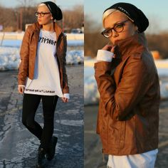 Long Clothing Shirt, Aeropostale Jacket, Happiness Brand Hat, Forever 21 Shoes