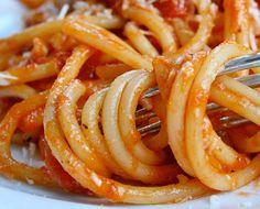 Bucatini from Giulia in #Cambridge, MA  #Boston #pasta