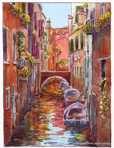 Everyday Artist: Sketchbook Journeys - Italy: Day 9 (Venice Canals)